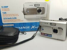 Konica Minolta DiMAGE X60 5.0MP Digital Camera - Silver  (BB4)