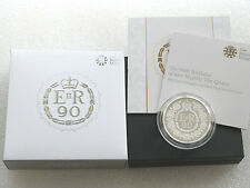 2016 £10 SILVER PROOF ROYAL MINT 5oz big heavy TEN POUND 10 COIN QUEEN 90TH