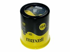 100 Maxell Cd-r 80min 700mb 52x Full Speed In Spindel