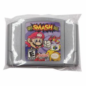 Super Smash Bros Video Game Cartridge Console Card US Version For Nintendo N64