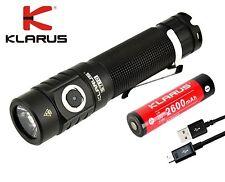 New Klarus ST10 USB charge Cree XM-L2 U2 1100 Lumens LED Flashlight with 18650