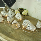 butterfly hanging lantern cup fairy light garland bedroom LED lighting string