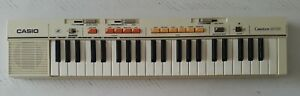 1984 CASIOTONE MT-35  VINTAGE ELECTRONIC CASIO KEYBOARD  Tested/ WORKS