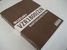 WERKSTATTHANDBUCH REPARATUR SERVICE WARTUNG Suzuki VZR1800 alle Bj.  NEU&OVP