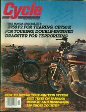 1977 Cycle Magazine: Honda CB750F2 & CB750K/Husqvarna 250 WR Cross Country