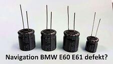 Reparatur-Set BMW E60 E61 NAVI CCC Kondensator 3300uF 18x20 + 1000uF Elko 5er