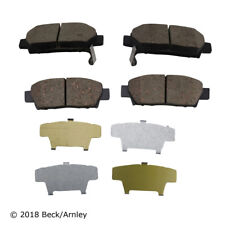 Disc Brake Pad Set Rear Beck/Arnley 089-1534