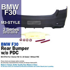 M3 Style Without PDC Rear Bumper Molding Garnish For BMW 3Series 2012 - 2018 F30