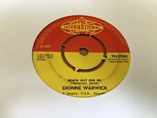 DIONNE WARWICK REACH OUT FOR ME 7'' VINYL RECORD 1964 7N.25265