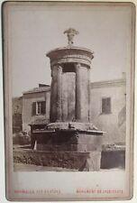 GRECE Greece Monument de Lysicrate Athènes Photo Vintage Albumine c1875