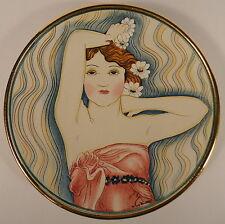 Beautiful Girl GIGI La Belle Femme Limited Edition Plate Artist V. Tiziano 1979