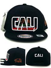 Leader 1954 New California Republic Cali Youth Kids Black Era Snapback Hat Cap
