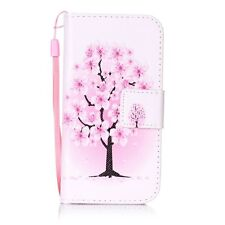 Case for Apple iPhone 5 5S SE Cover Leather Flip Wallet Style Phone Case Cover