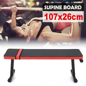 Folding Flat Weight Lifting Bench Body Workout Exercise Home Gym Fitness Benches
