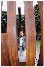 Bernar Venet sculpture Champs-Élysées Original Vintage 1999