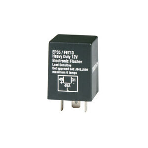 Tridon  Flasher Relay Can 12v    FET13