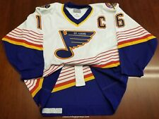 Brett Hull Vintage St Louis Blues CCM Authentic Jersey