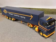 1/87 Wiking SCANIA 143M  ASG Spedition Sattelzug 518 01 B
