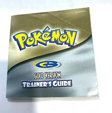 Pokemon Trainer's Guide Silver Instruction Manual Nintendo Game Boy
