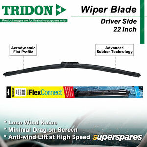 Tridon Driver side Wiper Blade for Holden Astra AH Barina Spark Colorado RC RG