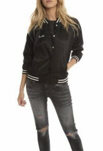 R13 Double Trouble Roadie Black Jacket Women's Size SMALL - NWT