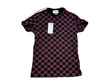 Gucci Mens T Shirt Small Black GG Print 100% Authentic Brand New S