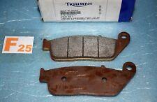 2 plaquettes de frein origine TRIUMPH Thruxton 900 Scrambler BonnevilleT2020537
