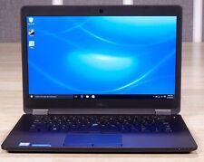 """Ultrabook Dell Latitude E7470 14"""" Core i5-6300U 8 GB 256 GB SSD WIN 7 PRO"""