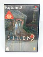 SONY PLAYSTATION 2 PS2 - SIREN 2 - Versión Japonesa - Completo - SONY