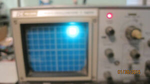 B&K   Precision 1477 Analog Oscilloscope  Lot  A313