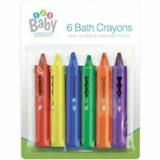 Baby Essentials Bath Time Crayons - Pack of 6