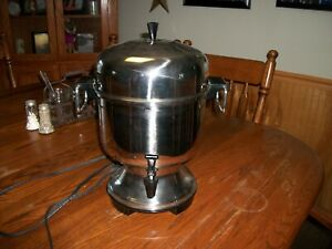Farberware Automatic Coffee Percolator Urn Stainless 10-22 cup Coffee Maker/NM