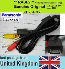 Original Panasonic LUMIX AV cable DMC- ZS6 ZS7 DMC-GH2h GH1 DMC-FZ100 TZ6 TZ7