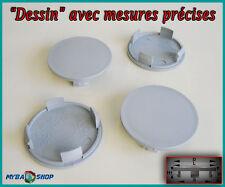 4x CENTRE DE ROUE PLAT CACHE MOYEU JANTE 55mm CACHES MOYEUX JANTES NEUF