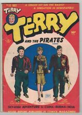 TERRY and the PIRATES #12 - MILTON CANIFF ART & COVER - HARVEY COMICS/1948