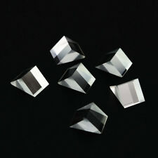 6Pcs 11.5X10.5X15mm Right angle triangular prism for Physics science Teaching