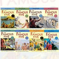 Enid Blyton Famous Five Series 8 Books Set (1 To 8) Paperback  English