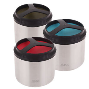 Oasis Stainless Steel Insulated Food Container Jar 1L