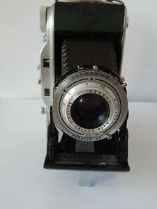 Vintage Agfa Record III Folding Camera With Case