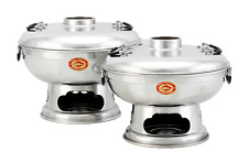 Mongolentopf - Hot Pot - Thai Fondue - Feuertopf aus Thailand - Thai Grill