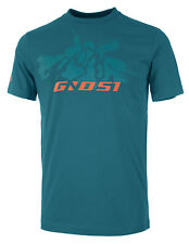 GHOST MTN Casual Line Rebel Shirt Petrol Green/Monarch Orange, Bike-T-Shirt, 2XL