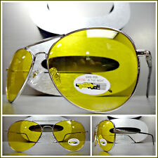 60e301acd8 Men s VINTAGE RETRO Day or Night DRIVING RIDING SHOOTING Yellow Lens SUN  GLASSES