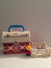 "2008 Fisher Price Little People Play ""N Go Farm Lunch Box"