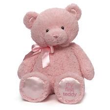 "MY FIRST TEDDY BEAR - Pink - 18"" - by Baby Gund - BRAND NEW - #4043979"