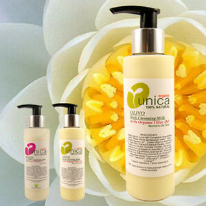 UNICA COSMETICS OLIVO  MAKE UP REMOVER CLEANSER FOR SENSITIVE SKIN ECZEMA 150ML
