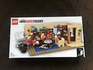 Lego Ideas The Big Bang Theory (21302) - Brand New. RARE RETIRED. FREE POSTAGE!