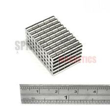 250 pequeños imanes 3x4 Mm de Neodimio Barra Nevera Interruptor Craft Imán 3mm diámetro x 4mm