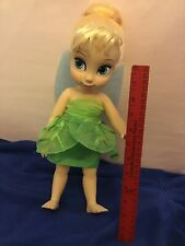 """RARE Disney 16"""" Tinkerbell Fairy Animators' Collection Toddler Doll"""