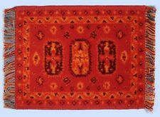Rug 5, Quality Wool Rug Dolls House Miniature, Soft Furnishing, Decor, Carpet