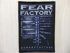 Aufnäher - Patch - Fear Factory - Demanufacture - Prong - Sepultura - Clawfinger